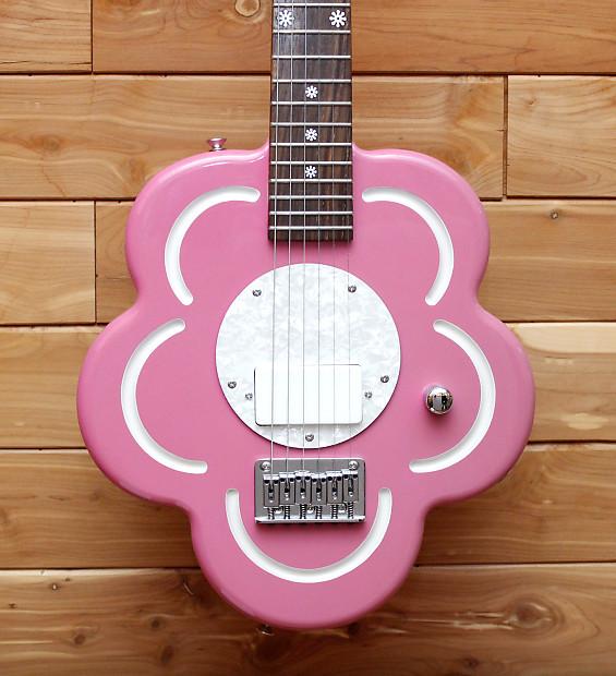 Daisy Rock Flower Pink 3/4 Size Electric Guitar | LA Music