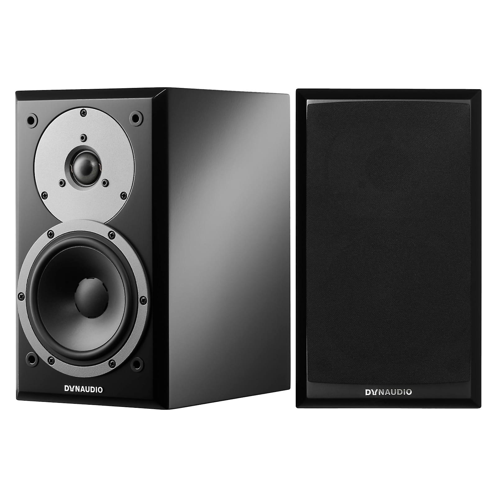 Dynaudio Emit M10 Bookshelf Speaker Pair - Black Satin