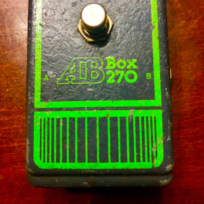 Dod Vintage AB Box selector pedal switch 1970's grey gray for sale