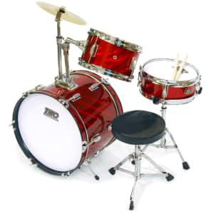 TKO Percussion TKO99PR 3pc Junior Drum Set