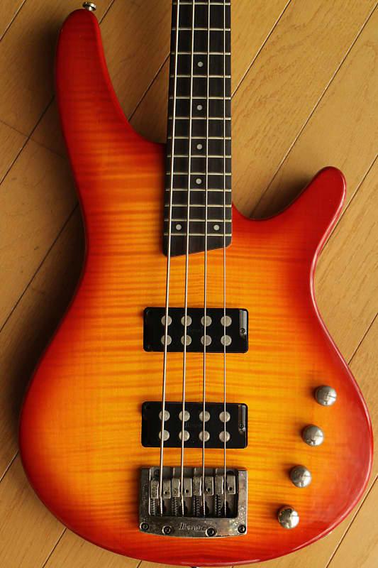 Flametop Ibanez SDGR SRX-500 Rock Bass tone machine  Active pickups (Musicman style) image