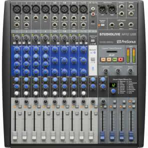 PreSonus StudioLive AR12 12-Channel Hybrid USB Mixer Interface