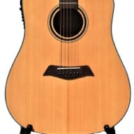 Free Shipping ! Solid Top Spruce Acoustic Electric Guitar 41 inch iMusic234 for sale