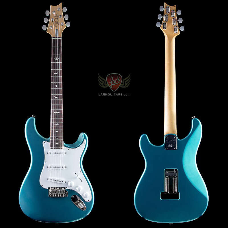 Prs John Mayer Signature Silver Sky Dodgem Blue In
