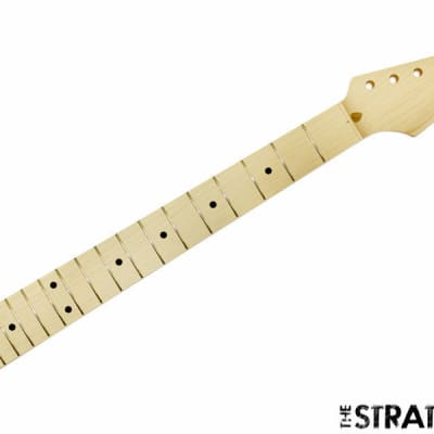 NEW Fender Lic Allparts Stratocaster NECK Strat Maple Unfinished 21 Fret SMO-21