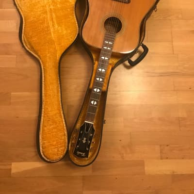 TERADA FW504 acoustic guitar from the 70's MIJ Made in Japan Gibson Dove Copy + Case for sale