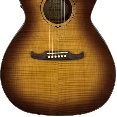 Fender FA-345CE Auditorium Acoustic Electric Guitar - 3-Tone Tea Burst for sale