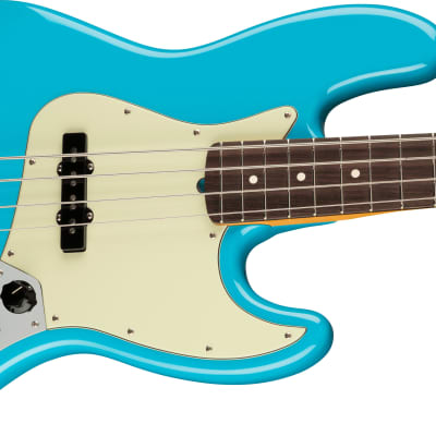 Fender American Professional II Jazz Bass®, Rosewood Fingerboard, Miami Blue