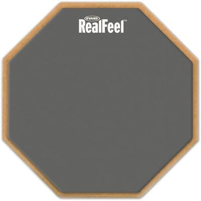"""Evans RF12G RealFeel Practice Pad - 12"""""""