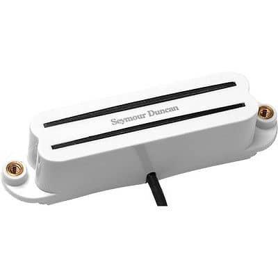 Seymour Duncan SHR-1b Bridge Hot Rails for Strat Guitar Pickup White 1120502-W