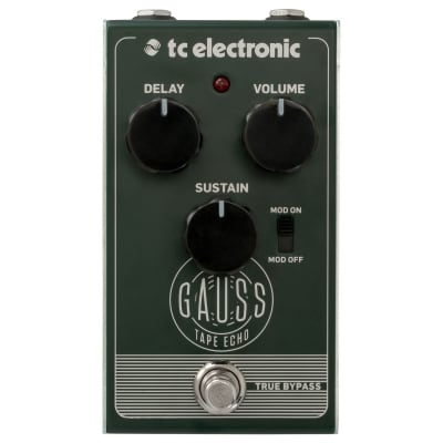 Tc Electronic Gauss Tape Echo Effetto Eco A Nastro A Pedale Per Chitarra for sale