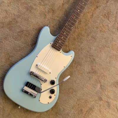 Kalamazoo KG-1 Guitar 1960's Frost Blue for sale