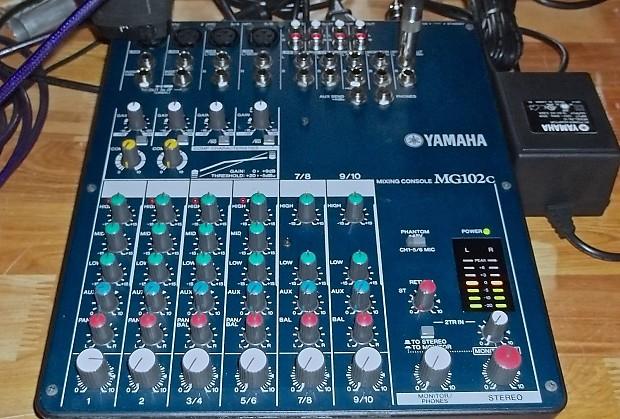 Yamaha mg102c owner's manual pdf download.