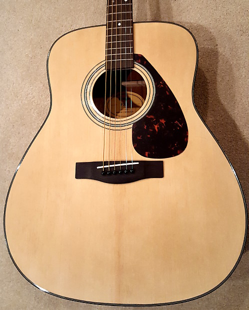 yamaha f335. yamaha f335 dreadnought acoustic guitar natural