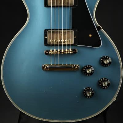 Gibson Custom Shop '68 Les Paul Custom Lightly Aged Antique Pelham Blue
