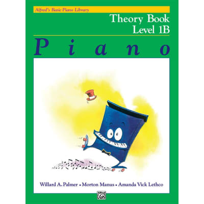 Alfred's Basic Piano Library: Theory Book - Level 1B