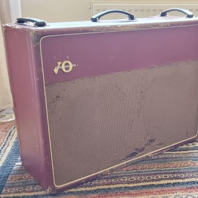JMI Vox AC30 with original Vox blue alnico speakers and original foot-switch.  1963 / 1964