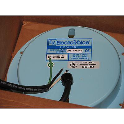Electro Voice Uw30 30 Watt Commercial Underwater Speaker