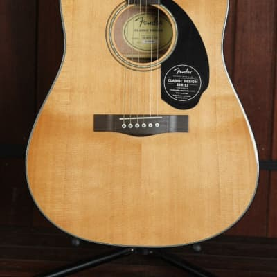Fender CD-60SCE Solid Top Dreadnought Acoustic-Electric Guitar for sale