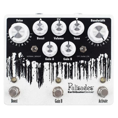 EarthQuaker Devices Palisades Mega Ultimate Overdrive V2  Guitar Pedal