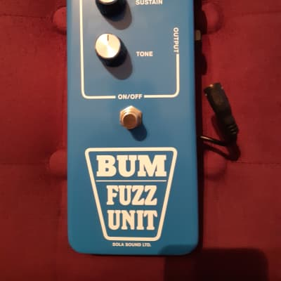 Sola Sound Blue bum fuzz by D*A*M for sale
