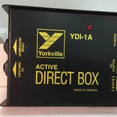Yorkville Active DI Direct Input Box