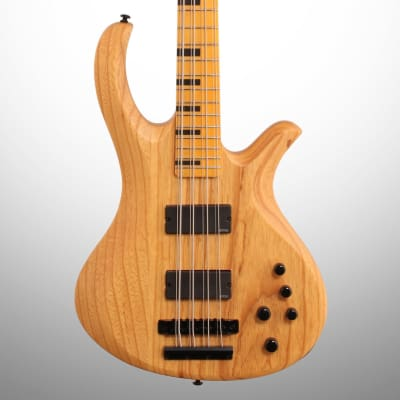 Schecter Session Riot 8 Electric Bass, 8-String, Aged Natural Satin
