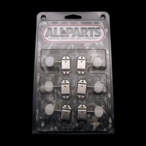 All Parts Gotoh Vintage Style 3x3 Tuning Machines (Nickel) for sale