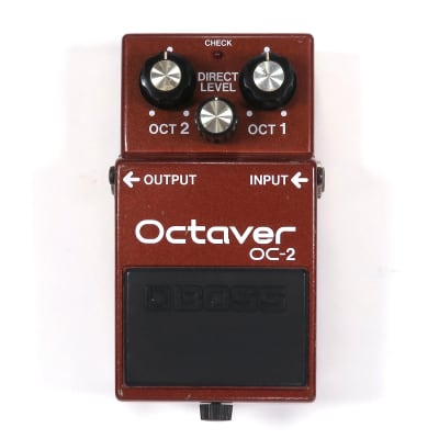 Boss OC-2 Octaver (Black Label)
