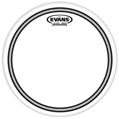 "Evans TT06EC2S EC2 Clear Drum Head - 6"""