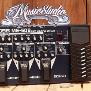 Boss BOSS ME50B MULTI EFFECT BASSE 2016 for sale