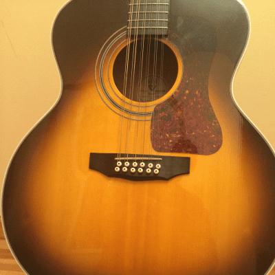 Guild 12-String Acoustic Guitar - JF 30-12 - USA Built -  Sunburst w/case! for sale