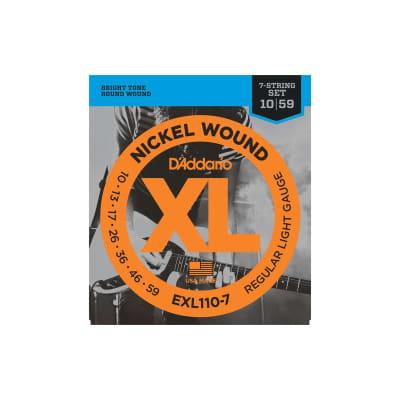 D´Addario EXL110-7 10-59 7 Electric Strings Set