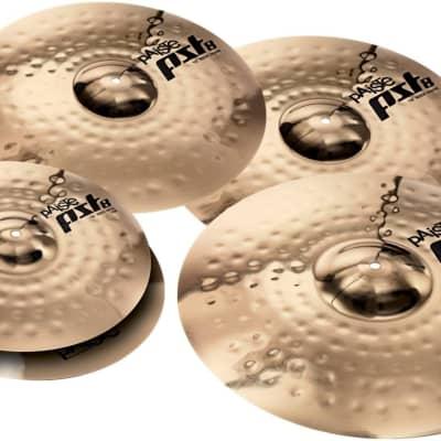 Paiste Cymbal PST 8 Rock Cymbal Set - FREE 16 Inches Crash