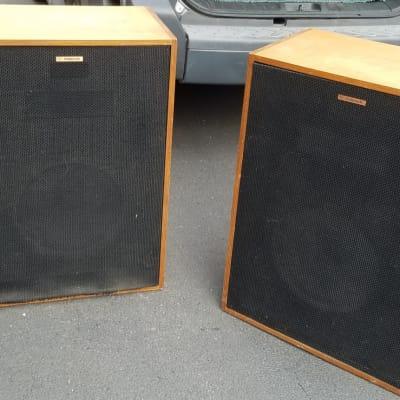 Klipsch Cornwall Horn Speakers