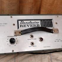 Danelectro Reverb Unit 1960 Silver image