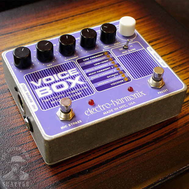 electro harmonix voice box used the guitar store reverb. Black Bedroom Furniture Sets. Home Design Ideas