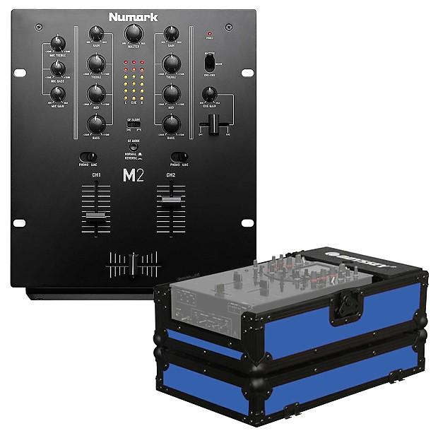 Numark M2 Black Professional Scratch DJ Mixer + 10