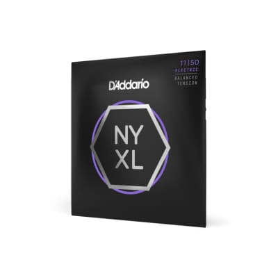 D'Addario NYXL1150BT Nickel Wound Electric Strings, Balanced Tension Med.