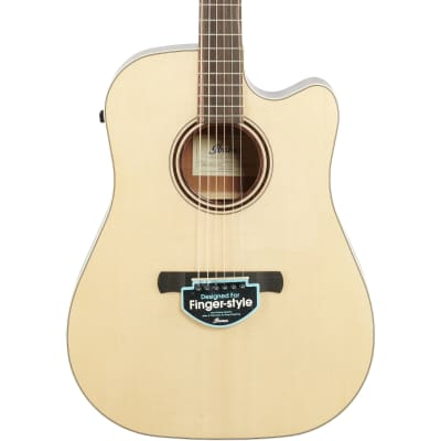 Ibanez AWFS300CE Fingerstyle Series Acoustic-Electric Guitar (with Gig Bag), Open Pore Stain