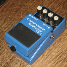 Boss CS-3 Compressor / Sustainer Guitar Effect Pedal Roland Stompbox