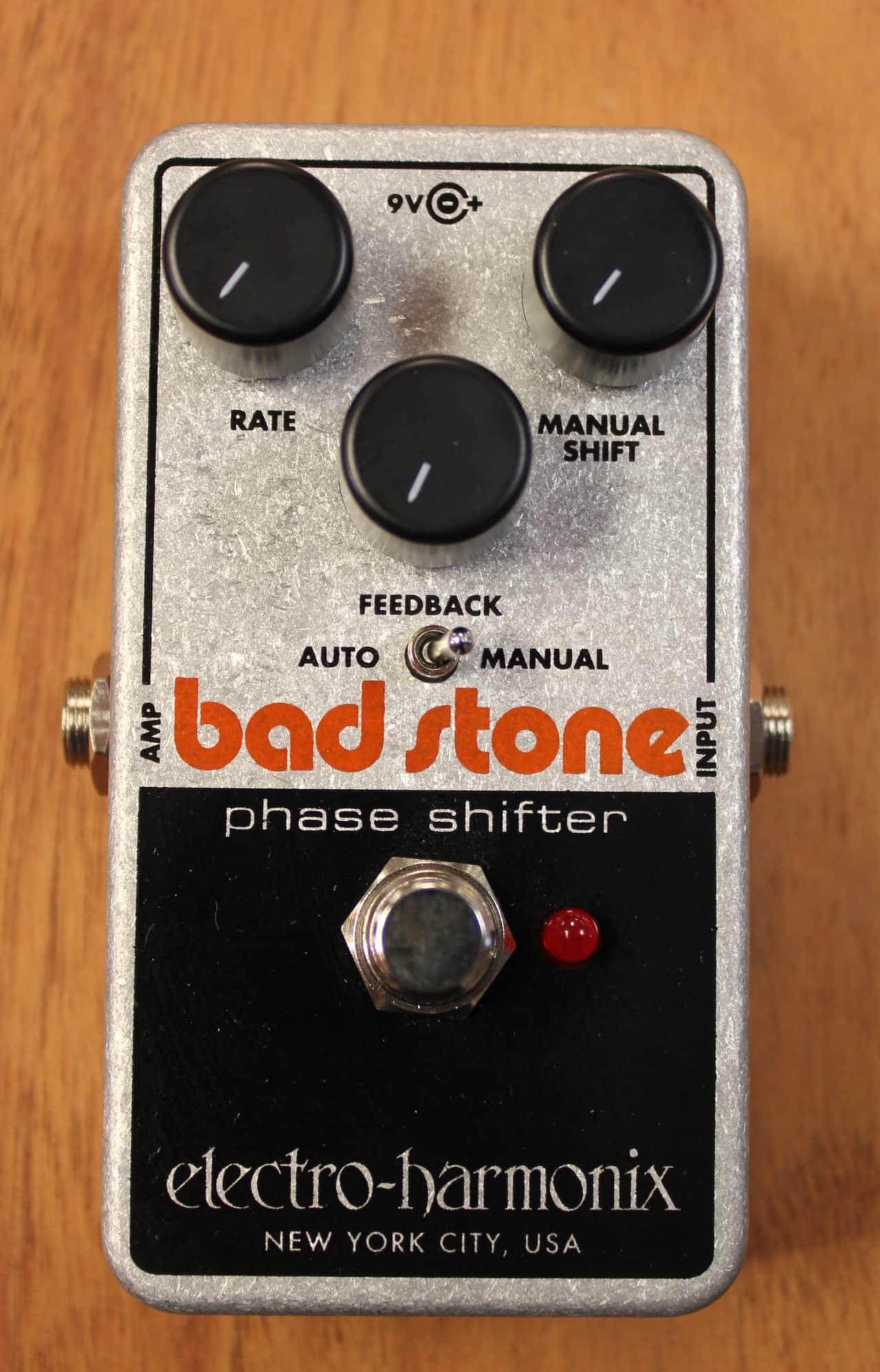electro harmonix bad stone phase shifter guitar effect pedal reverb. Black Bedroom Furniture Sets. Home Design Ideas