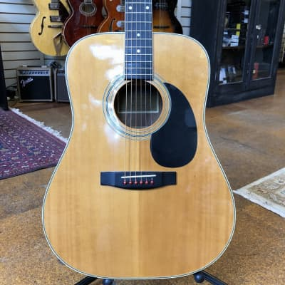Hohner MIK HW-400N Spruce/Mahogany Dreadnought Acoustic Early 1990s for sale