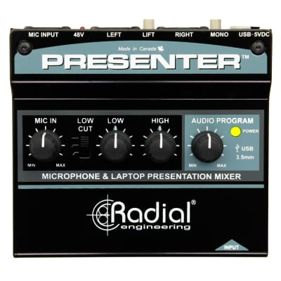 Radial PRESENTER Audio Presentation Mixer & USB Interface