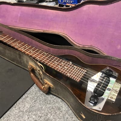 Vintage 1930's Kalamazoo EKE Lap Steel w/ Original Case for sale