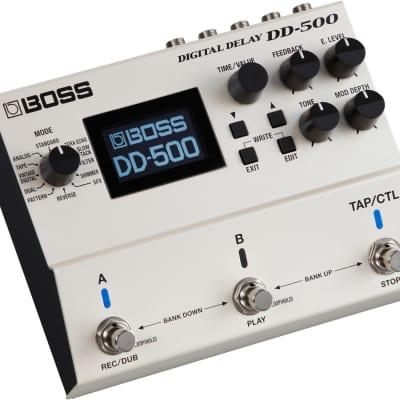 Boss DD-500 Digital Delay Guitar Effect Pedal for sale