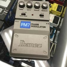 Ibanez PM7 Phase Modulator Effect Pedal