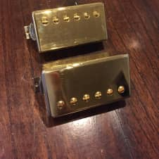 Gibson Burstbucker 1 and 3 Pickup Set Gold