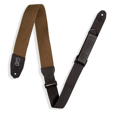 Levy's Levys Cotton Guitar Strap - Green for sale
