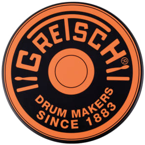 "Gretsch GREPAD6O 12"" Round Badge Practice Pad"